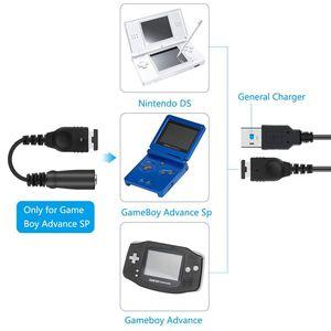Image 4 - Зарядное устройство кабель и 3,5 мм разъем для наушников, головной гарнитуры адаптер Шнур кабель Для Nintendo Advance GBA SP