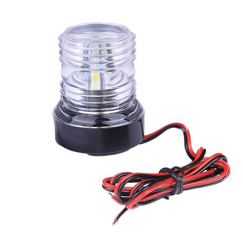Marine Hardware Fashion Style Super Bright Marine Boat Navigation Anchor Light 12 V 360 Degree All Round Boat Light White Lamp Led Navigation Light Distinctive For Its Traditional Properties Boat Parts & Accessories