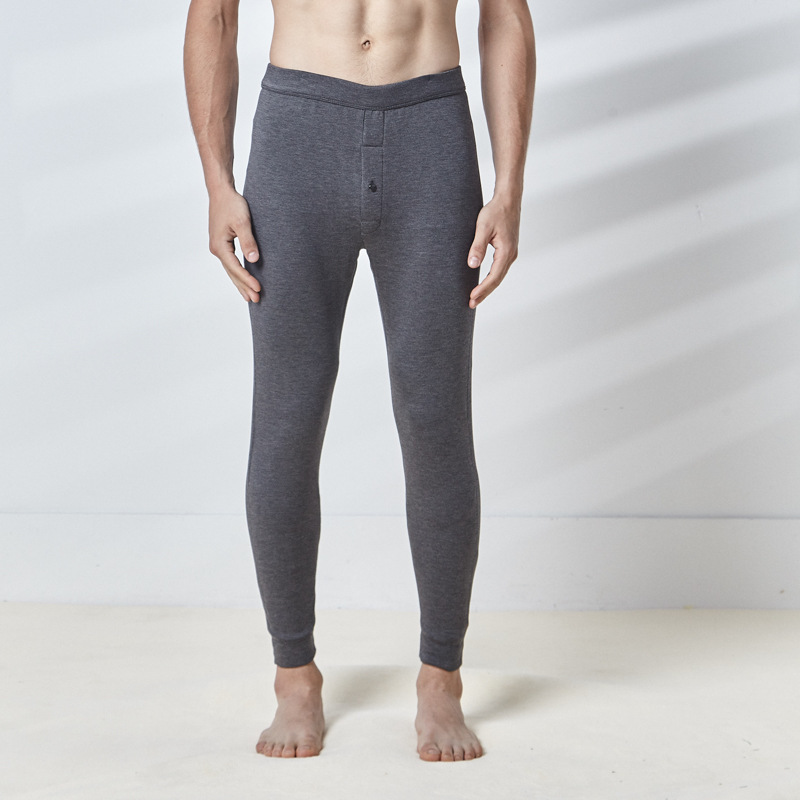 2018 winter men 39 s thick thermal men slim cashmere thermal thick bottom thermal underwear men cycling winter thermal men 1622 18