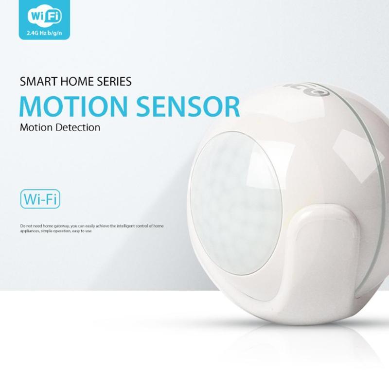 Image 3 - Умный беспроводной Wi Fi PIR датчик движения датчик сигнализации 7 м расстояние чувствительности для автоматизации умного дома Android IOS-in Сенсор и детектор from Безопасность и защита