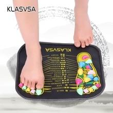 KLASVSA Reflexology Walk Stone Foot Leg Pain Relieve Relief