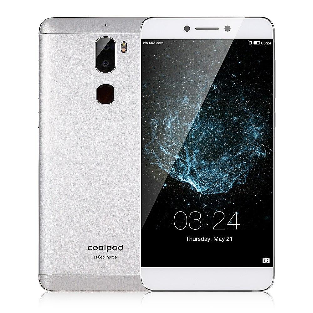 Coolpad Cool1 Smartphone Double (C103) 4G 5.5 Pouces Téléphone Portable Mondial Version Android 6.0 4 GB Et 32 GB 13.0MP Double Arrière Caméras