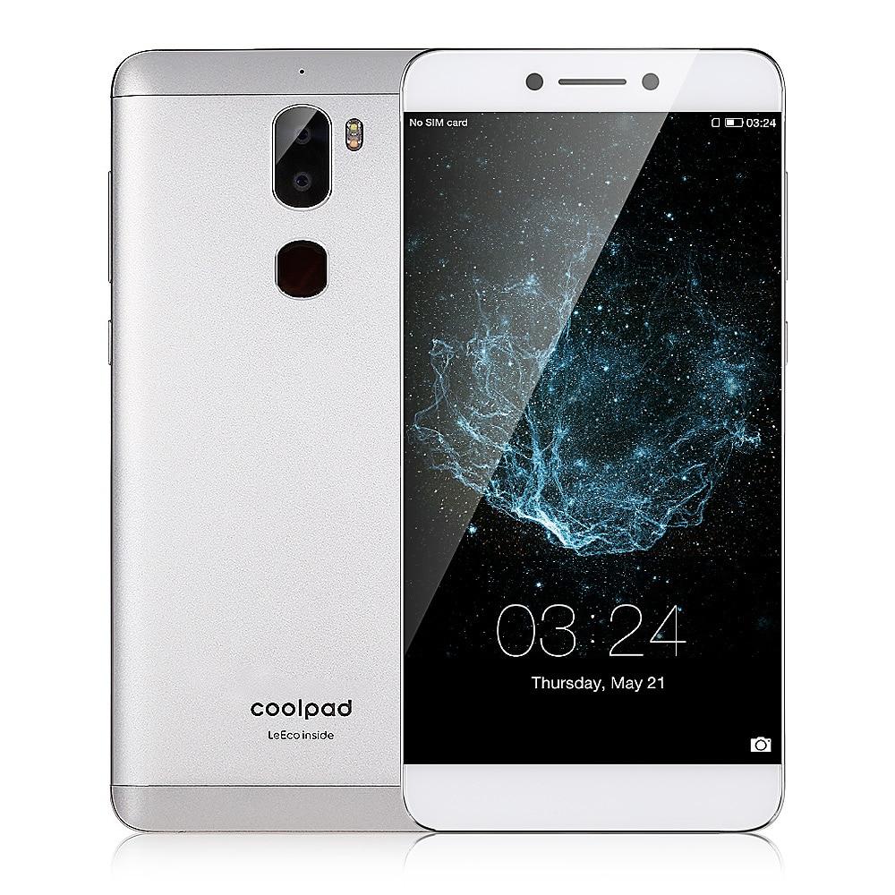 Coolpad Cool1 Smartphone Dual (C103) 4G 5,5 pulgadas teléfono móvil versión Global Android 6,0 4 GB y 32 GB 13.0MP Dual cámaras traseras