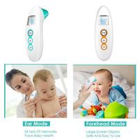 Baby Electronic Medical Forehead Ear Thermometer Children Infrared Thermometer Small And Beautiful Fast And Accurate Safe Simple