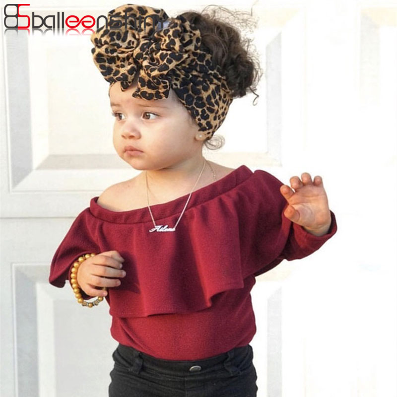 BalleenShiny 2019 New Children's Leopard Stretch Hair Band Baby Headband Big Bow Wide Headwear Kids Girl Hair Accessories
