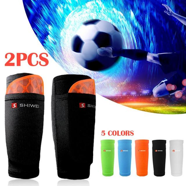 1 Pair Soccer Protective Socks With Pocket For Football Shin Pads Leg Sleeves Support Shin Guard Adult Teenager Support Socks