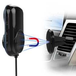 Зарядное устройство FM автомобильный аудио передатчик Громкая связь MP3 музыка Bluetooth передатчик Bluetooth двойной автомобильный USB адаптер с