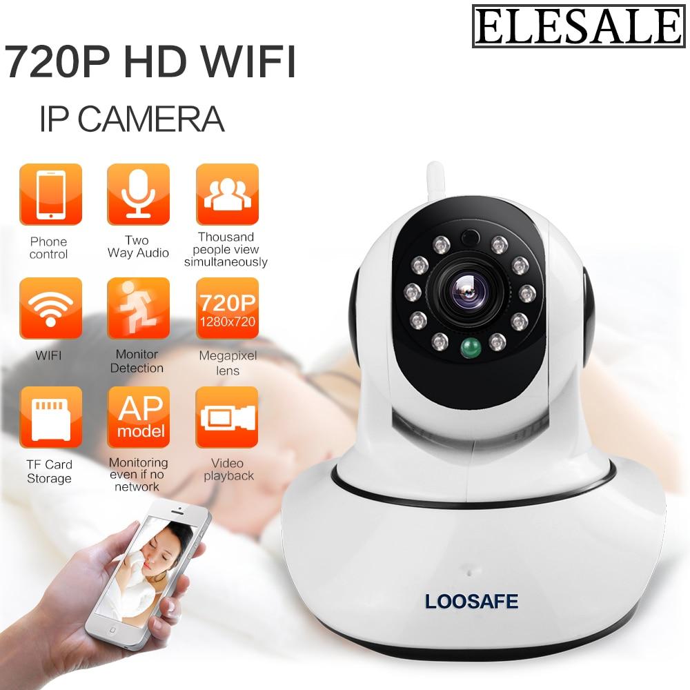 HD 720P WiFi ONVIF Security CCTV Night Vision Network 200*100*110mm IP Camera