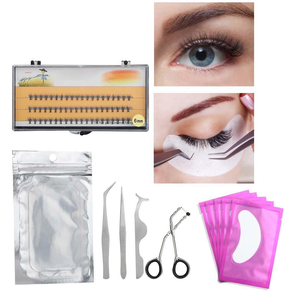 Professional False Eyelashes Extension Kit Grafting