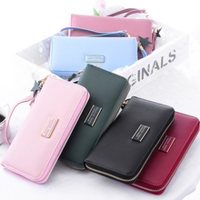 Wallet Female Long Zipper Simple Fashion Korean Version Multi-Function Hand-Held Wild Tide Purse