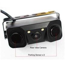 Car Rear View Camera Night Vision LED Light High Definition Rearview Vehicle Camera Add Reversing Radar Sensor Detector Camera все цены