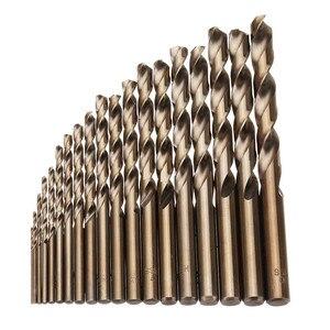 19pcs 1-10mm HSS M35 Cobalt Tw