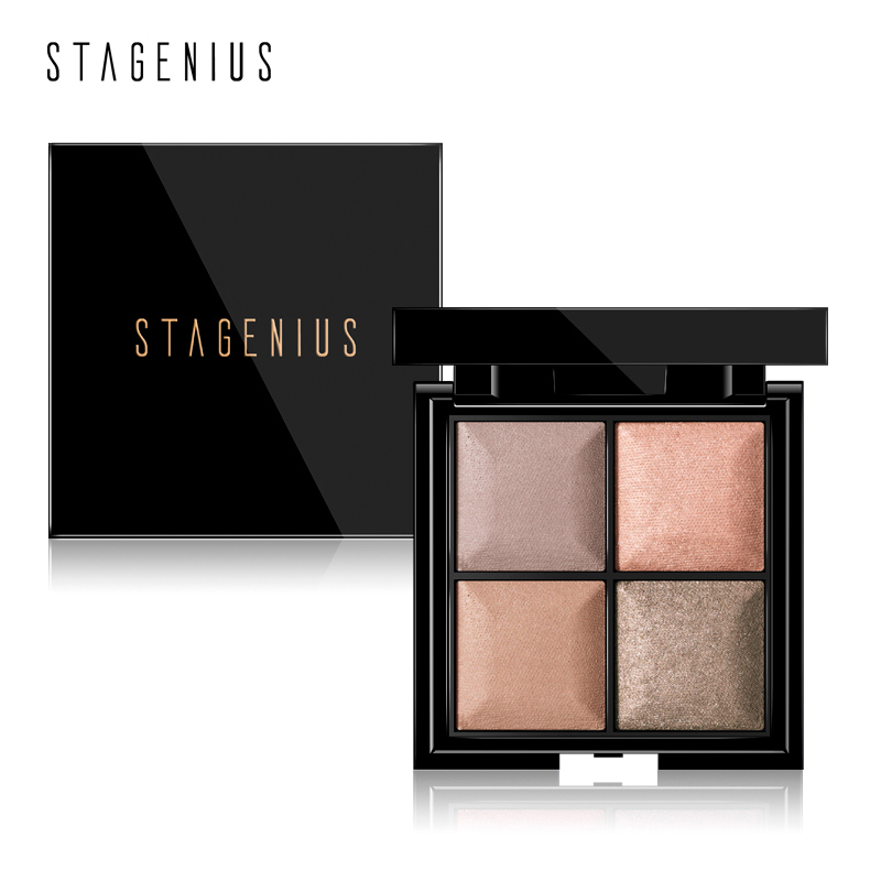 Stagenius Eye Shadow 6 Color Matte Glitter Smoky Shade Make Up Chic Fashion And Beauty Makeup Fashionable Patterns Beauty & Health