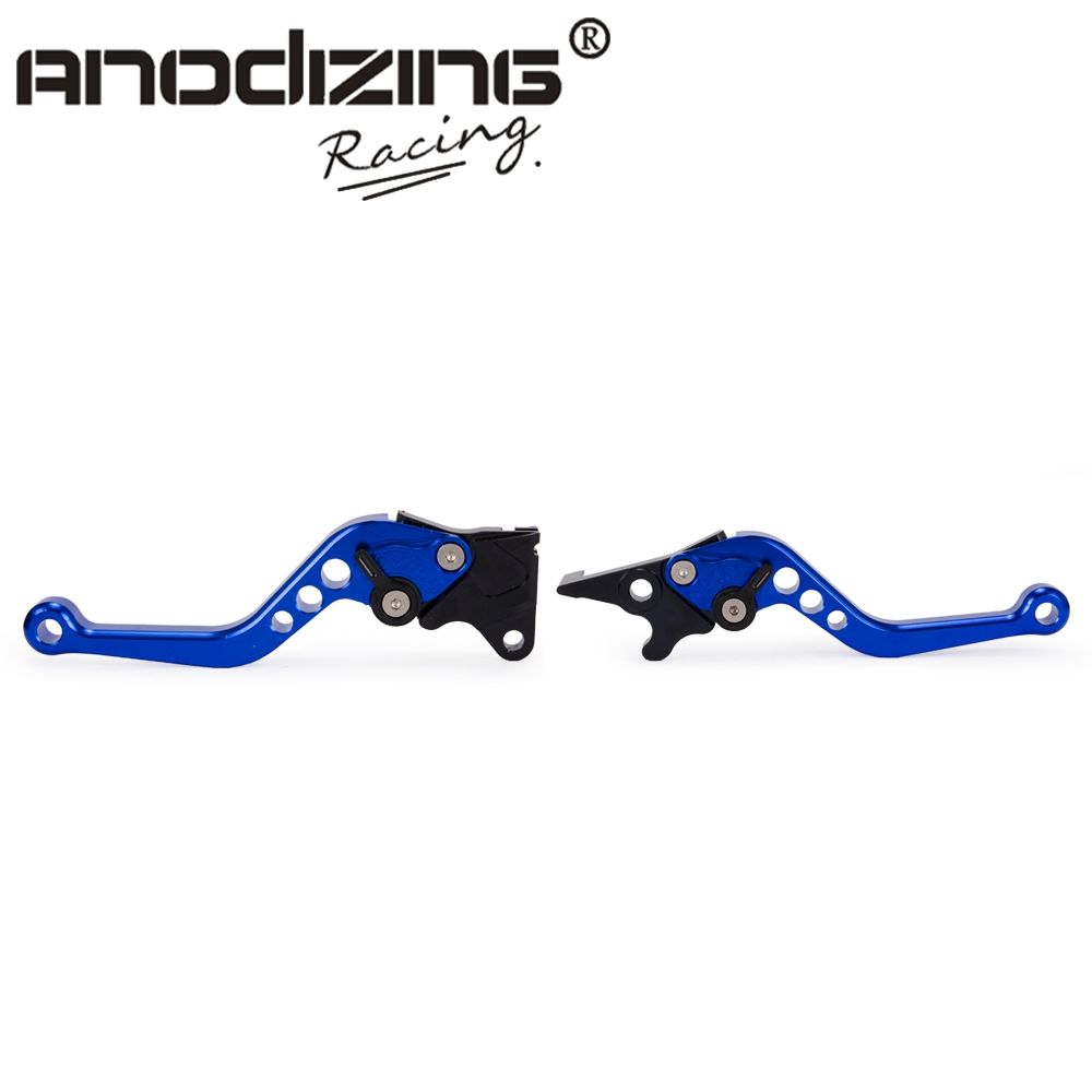 Motorcycle 2pcs Short Brake Clutch Levers For <font><b>Honda</b></font> <font><b>PCX</b></font> <font><b>125</b></font> 150 PCX125 2010 2011 2012 2013 2014 2015 2016 2017 2018 <font><b>2019</b></font> Scooter image