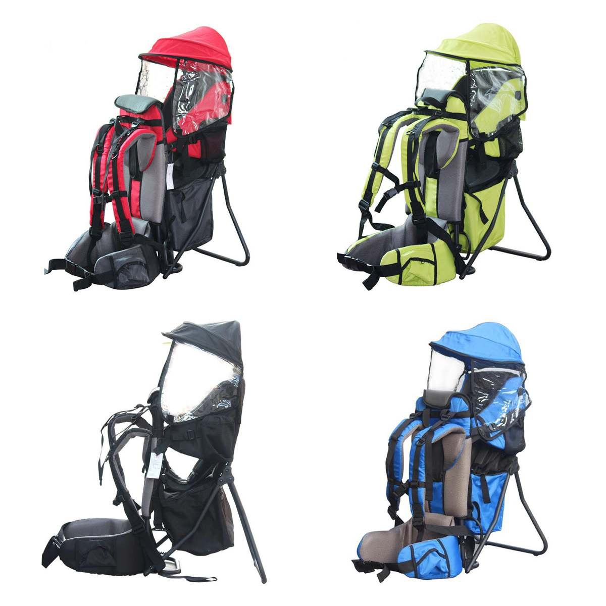 Load 30kg Adjustable Outdoor Baby Toddler Backpack Camping Climbing Bag Waterproof Mountaineering Hiking Child Kid Carrier