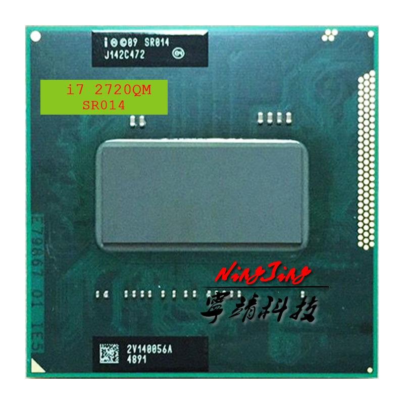 Intel Core i7 2720QM i7 2720QM SR014 2 2 GHz Quad Core Eight Thread CPU Processor