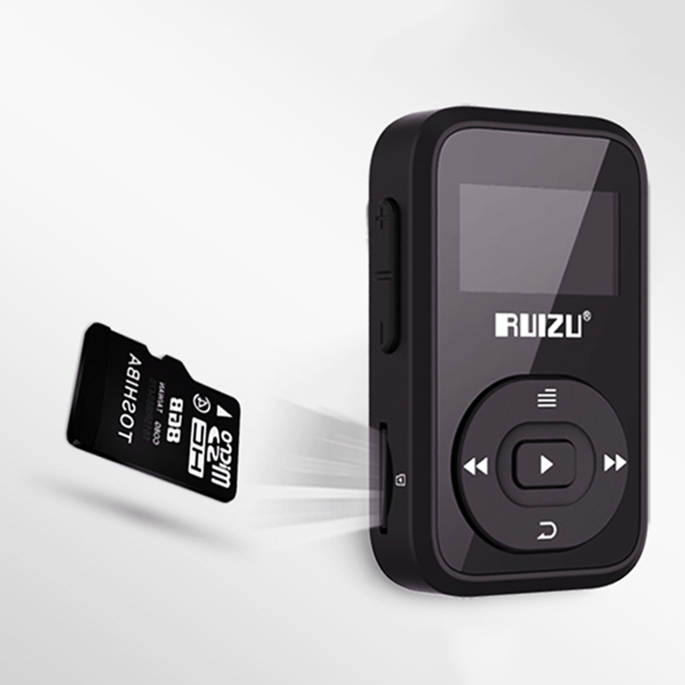 <font><b>RUIZU</b></font> X26 8 gb Bluetooth 4,0 Tragbare <font><b>MP3</b></font> Musik-<font><b>Player</b></font> Unterstützung Bluetooth Headset Stereo Auto Radio image