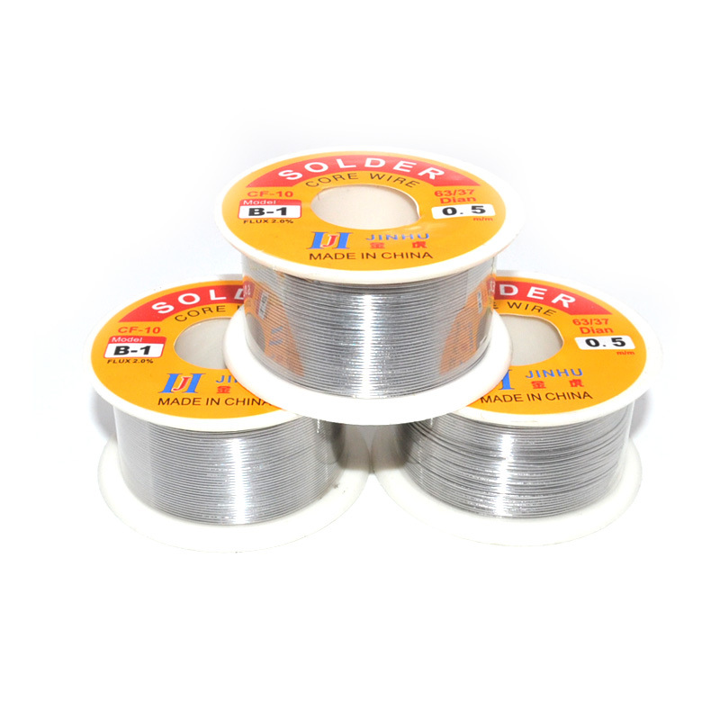 Factory Direct Sale Does Not Clean The Rosin 100 Grams Of Rosin Solder Wire 100 Grams Tin Wire Solder Wire 63/37 1 Pound