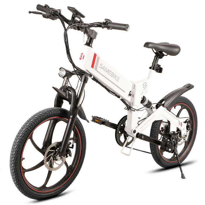 SAMEBIKE 20ZANCHE 10Ah Outdoor Battery Smart Folding Electric Bike