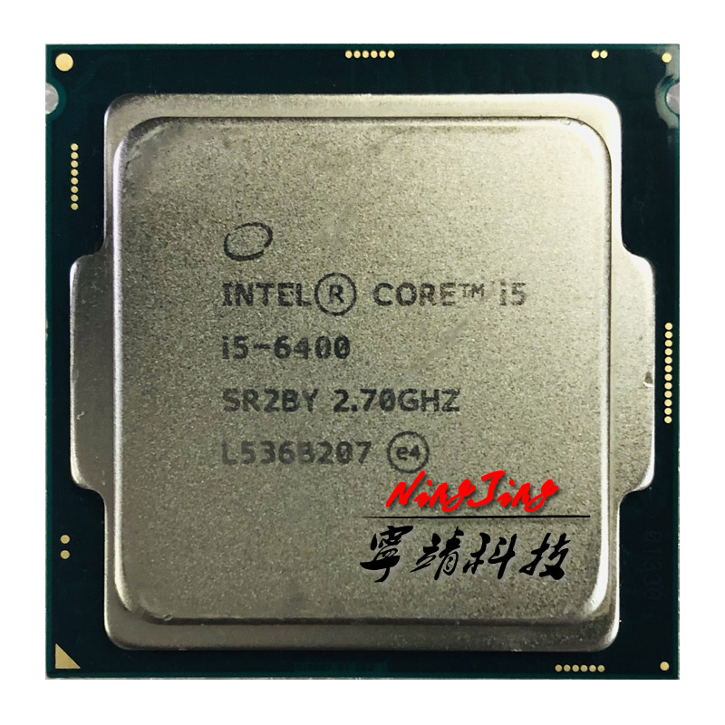 Intel Core i5 6400 i5 6400 2 7 GHz Quad Core Quad Thread CPU Processor 6M