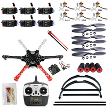 F550 drone flamewheel kit with qq hy esc motor carbon fiber