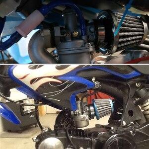 Image 5 - Alconstar 35 38 42 45 50 55 58 millimetri di trasporto Del Motociclo Carburatore Tubo di Aspirazione del Filtro Dellaria Testa a Fungo Per KOSO MIKUNI OKO KEIHI Carburatore