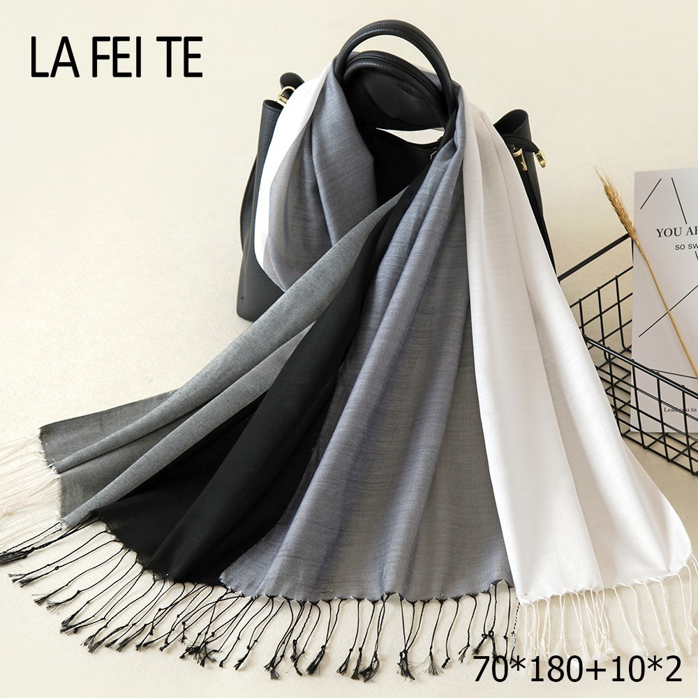Cotton Scarf Women 2019 Kerchief Foulard Femme Neckerchief Beach Head Hair Hijab Shawl Stole Long Viscose Women Scarf For Ladies