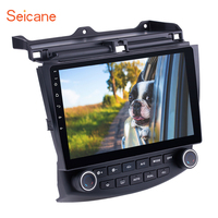 Seicane 10.1 inch Android 8.1 IPS 8 Core Car GPS Navigation Radio Player For 2003 2004 2005 2006 2007 Honda Accord 7 Head unit