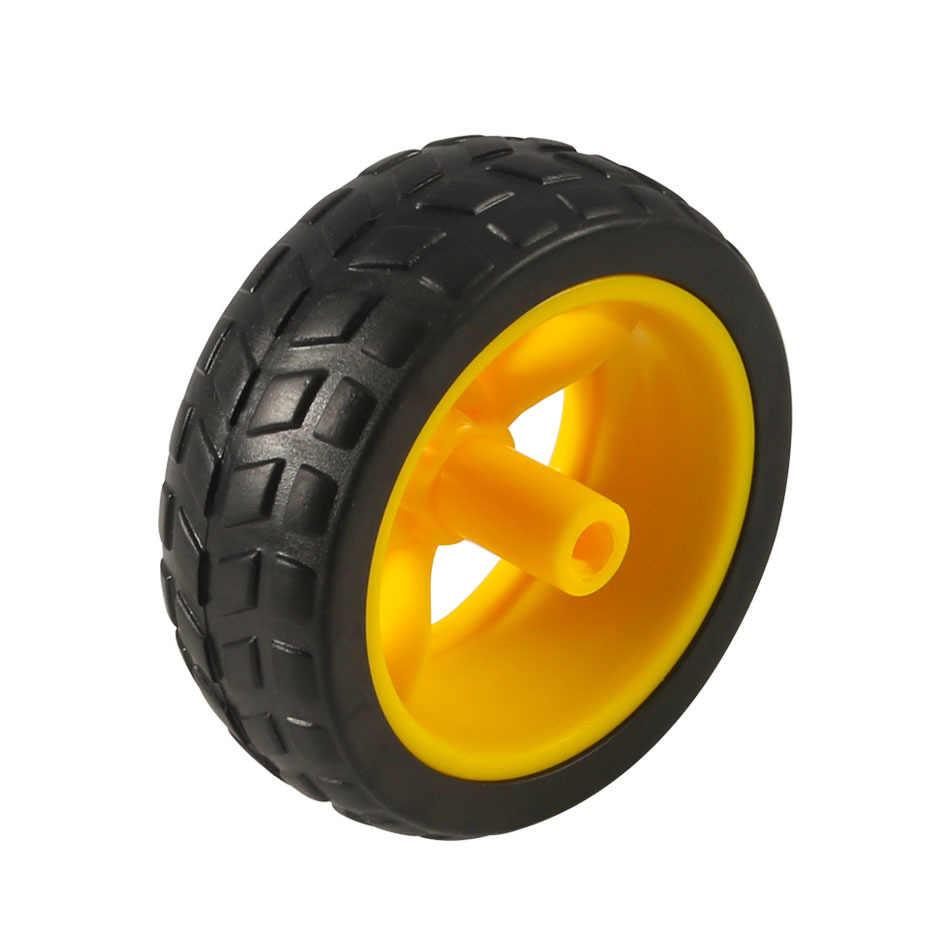 Tt محرك دوار عجلات هيكل السيارة الذكية روبوت التحكم عن بعد عجلات السيارة لاردوينو لتقوم بها بنفسك عدة