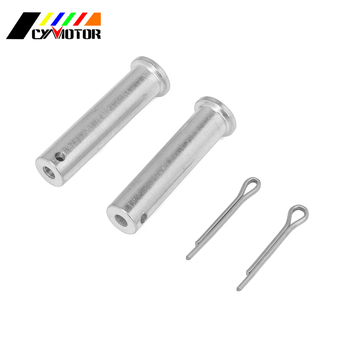 Motorcycle Free shipping Steel Footpeg Foot Pegs Pins For SUZUKI DRZ 400 400S 400E 400SM RM 125 250 250Z 450 RMX250 RMX450Z image
