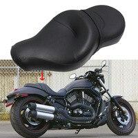 Driver Seat Passenger Seat Solo Cushion Saddle For Harley Sportster XL1200 XL883 XL1200N XL883N 04 16