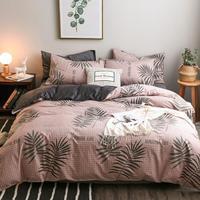 Colcha Casal 3d Parure Nordico Lencoes Ropa Parrure Lit Linen Roupa De Cama Cotton Bed Bedding Sheet And Quilt Cover Set