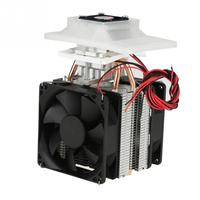 12V 6A Semiconductor Refrigeration Cooler DIY Air Cooling Device + Power Supply For Home Appliance Professional