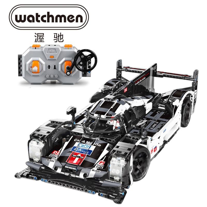 CADA Mobile Technik 1586 stücke Super Sport Auto Geschwindigkeit Champions Stadt MOC Building Block Bricks DIY Spielzeug Für Kinder Geschenke-in Sperren aus Spielzeug und Hobbys bei  Gruppe 1