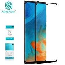 Voor Huawei P30 Xd Gehard Glas Voor Huawei P30 Pro 3D Gehard Glas Nillkin Cp + Max Volledige Cover Screen protector