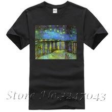 2f13e7deb1 Buy t shirt mens cotton van gogh and get free shipping on AliExpress.com