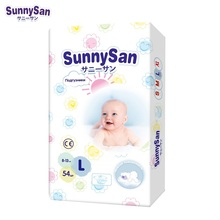 Подгузники SunnySan L (8 - 13 кг) 54 шт.