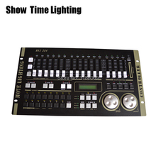 SHOW TIME Max 384 DMX Controller Stage light DMX Master console for XLR-3 led par beam moving head DJ light stage effect light free shipping quick show 3 dmx controller or dmx control software controller equipment for disco nightclub stage light