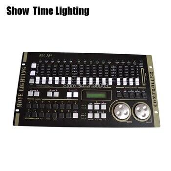 цена на SHOW TIME Max 384 DMX Controller Stage light DMX Master console for XLR-3 led par beam moving head DJ light stage effect light