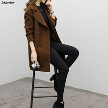 Laipelar 2018 New Fashion Winter Womens Autumn Jacket Casual Outwear Parka Cardigan Slim Coat Overcoat