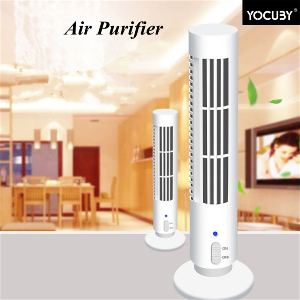 Portable Air Purifier Fresh Air Negative Ion Anion Smoke Dust Home Office Room PM2.5 Purify Cleaner Oxygen Bar Ionizer
