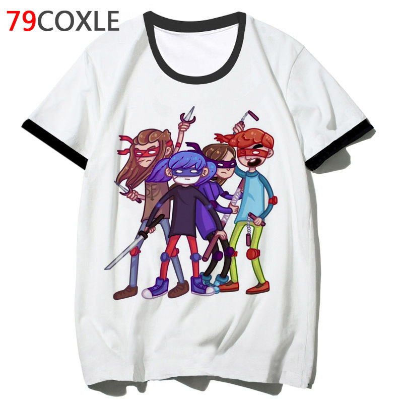 sally face t shirt for hip top clothing t-shirt men harajuku tshirt funny streetwear 2019 school male tee hop F7267 image