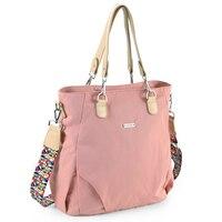 Waterproof Nylon Mommy Mom Bag Large Capacity Diaper Baby Nappy Bags Desiger Nursing Maternity Bag Travel Bag For Mom Dad Kids