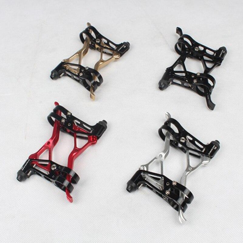 Freins de vélo en aluminium poignée vélo mécanique V/frein à disque leviers 3-finger BMX vélo freins leviers vtt pièces de vélo