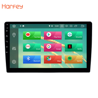 Harfey 1Din Universal GPS Auto Stereo 1Din Android 8.0/8.1 10 inch Car Radio Touchscreen Head Unit HD 1080P Multimedia Player