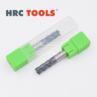 J25 d14x45Hx14Dx100L 4Flute CNC Milling Cutter HRC62 Solid Carbide End Mill Cutting Tools