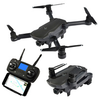 Professional Helicopter WiFi FPV Dual GPS Foldable RC Drone Quadcopter With 1080P HD WIFI Gimbal Camera Brushless Motor