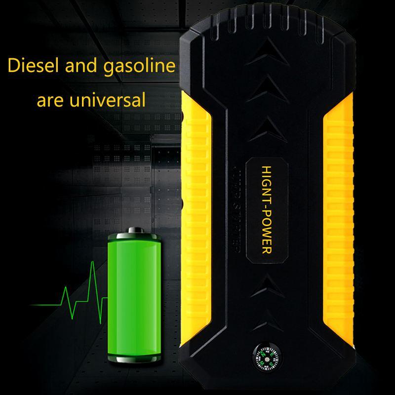 Démarreur de saut multifonction 89800 mAh 4USB 600A chargeur de batterie de voiture d'urgence Booster batterie externe dispositif de démarrage - 2