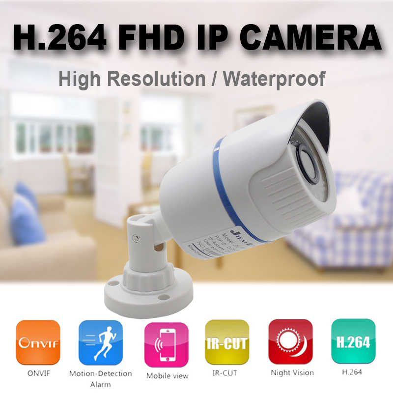 JIENUO ip Camera HD Cctv Outdoor Waterdichte Video Poe 720 P 960 P 1080 P Surveillance IPCam Infrarood Thuis surveillance IPC
