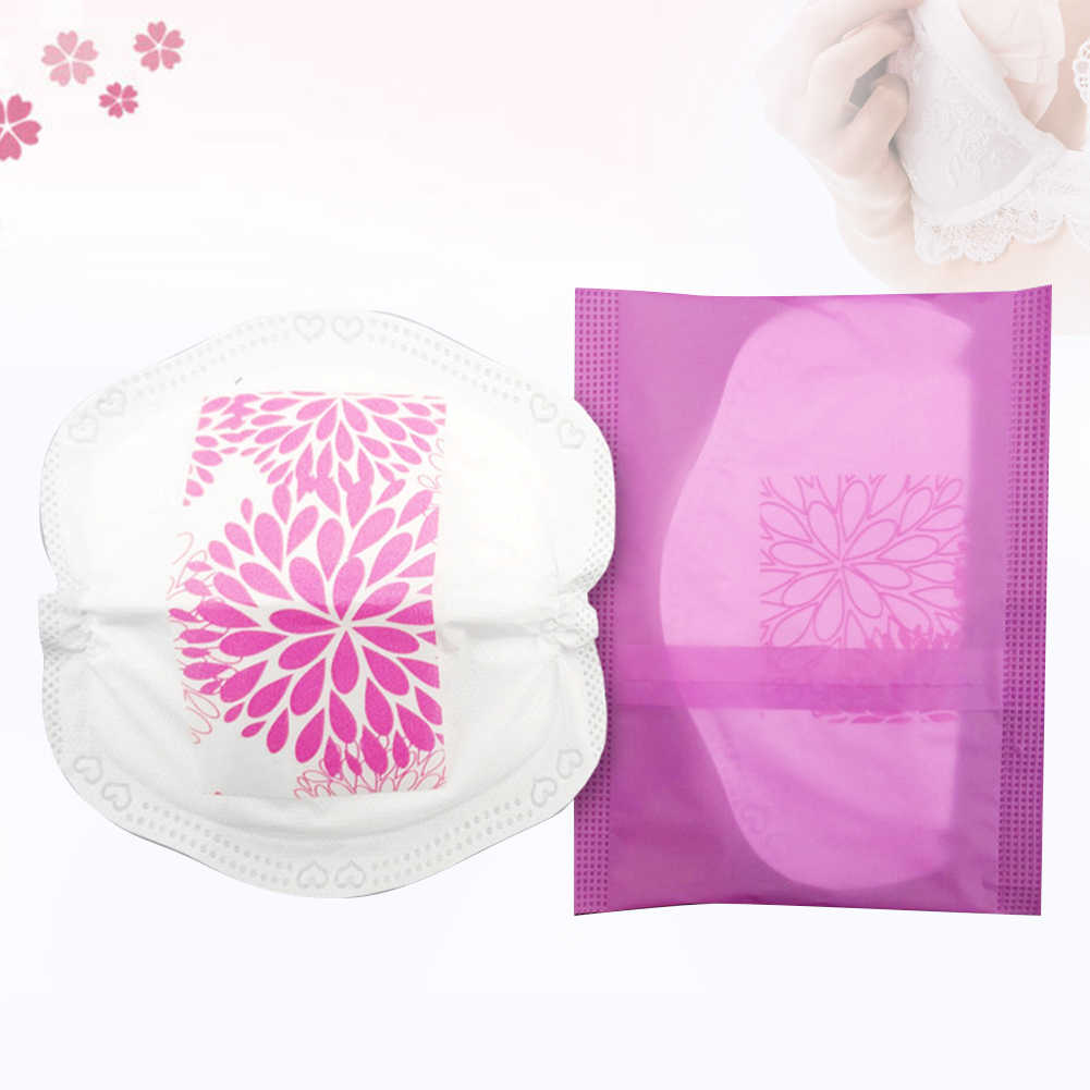 Double adhesive leakproof 3D ultra-thin disposable breast pad